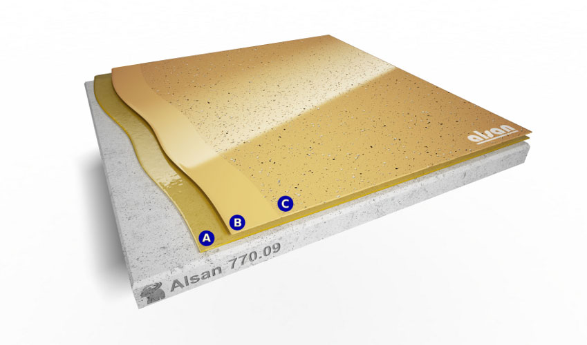 Liquid waterproofing ALSAN 770.09