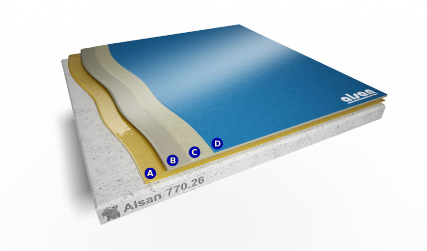 Liquid waterproofing ALSAN 770.26