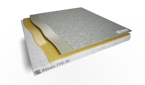 ALSAN PMMA-BL Deco Structure Fine