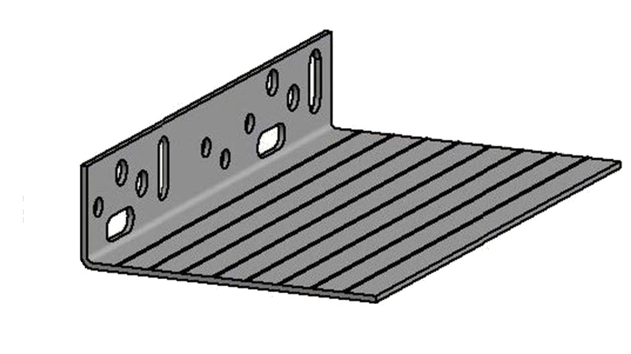 PAVACASA - PROFIL DE SOCLE DE DEPART PVC