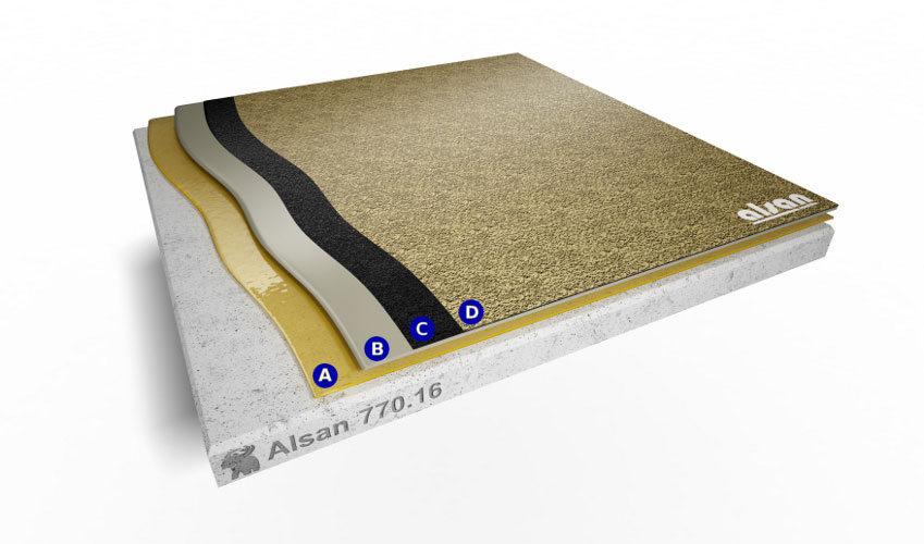 Liquid waterproofing ALSAN 770.16