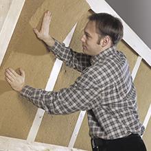 isolant pavaflex confort panneau en fibre de bois. Black Bedroom Furniture Sets. Home Design Ideas