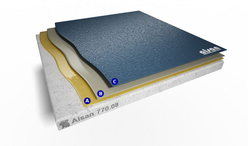 Liquid waterproofing ALSAN 770.08
