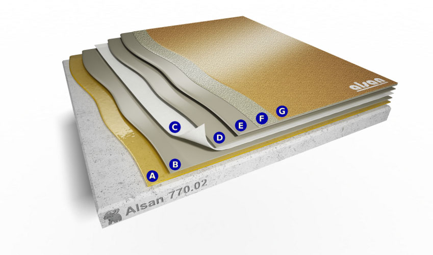 Liquid waterproofing ALSAN 770.02