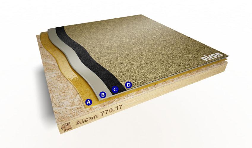Liquid waterproofing ALSAN 770.17