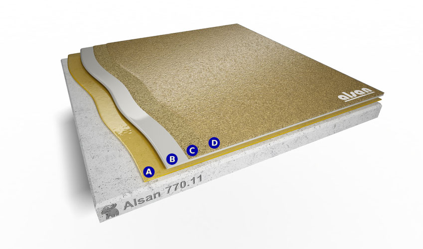 Liquid waterproofing ALSAN 770.11