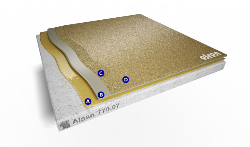 Liquid waterproofing ALSAN 770.07